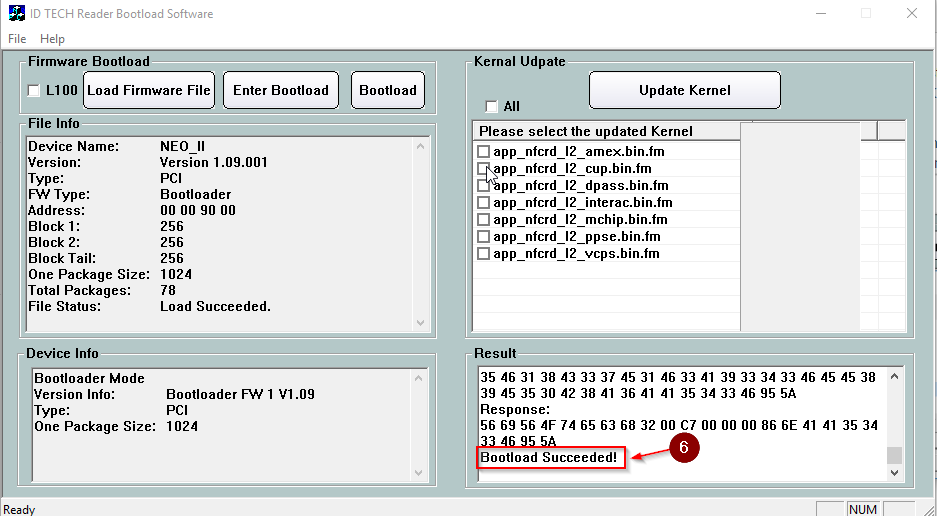 How to update the bootloader, firmware and kernel files of